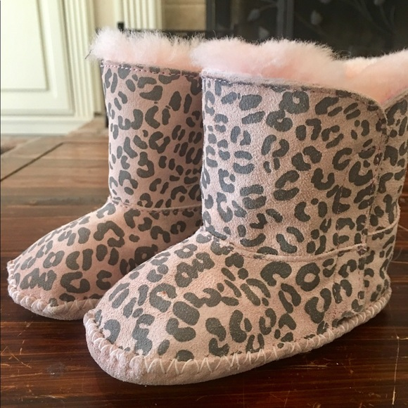 ugg shoes | cute pink leopard print boots size 45 animal | poshmark